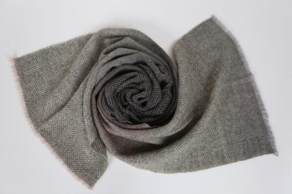 Handwoven shawl, green